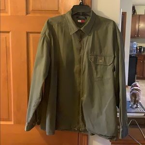 Tommy Hilfiger Large Army Green Jacket
